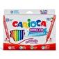 Carioca Carioca Birello Yıkanabilir Çift Taraflı Keçeli Boya Renkli